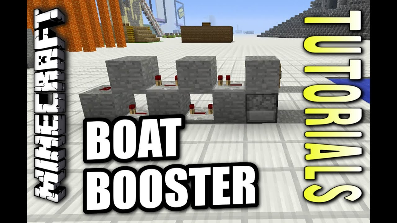 how to build a boat in minecraft ps4