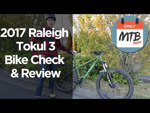 BEST HARDTAIL FOR THE MONEY!!! 2017 Raleigh Tokul 3 27.5+ - Bike Check and Review