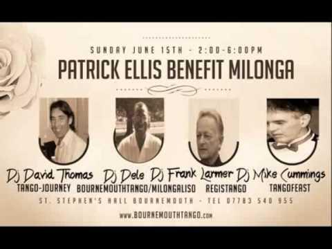 Patrick Ellis Benefit Milonga Playlist Teaser #2