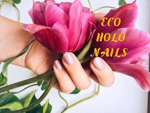 Eco Holo Nails - Vegan, 5 Free, Zero Waste 🦄🌈