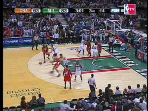 NBA Rookie Yi Jianlian Career High 29 points game Bobcats
