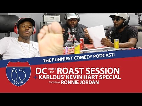 DC Young Fly Roast Session Kevin Hart LOL Karlous Special | Ronnie's Steve Harvey Meme Message