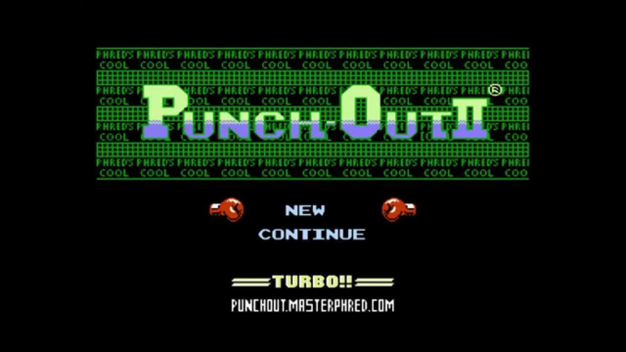 Punch-Out 2 Turbo NES ROM HACK - clipzui com