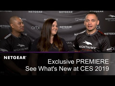 PREMIERE | NETGEAR at CES 2019: See What's New!
