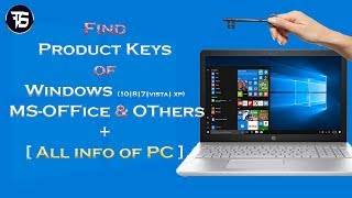 How to find Product Keys and All Info About PC - Belarc Advisor