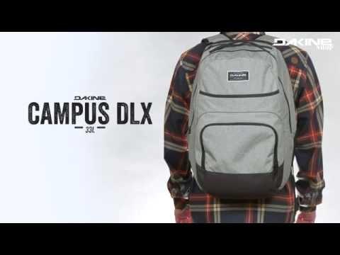Dakine Campus Deluxe 33 Liter Multimedia Rucksack mit Laptop & iPad Fach