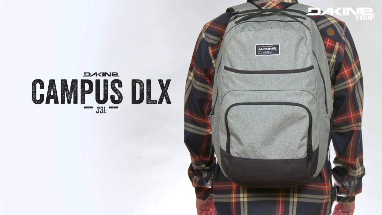 Dakine Campus Deluxe 33 Liter Multimedia Pack featuring Laptop ...