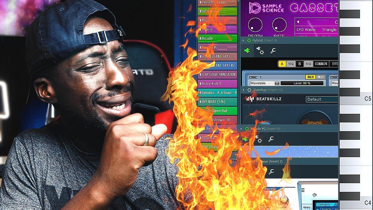 THIS MELODY! | Making FIRE R&B Beats From Scratch (Teyana Taylor, Kehlani) | FL Studio R&B T