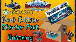 Skylanders: Superchargers: Xbox 360 Dark Edition Starter Pack Unboxing