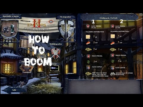 AoE 2: TaToH - Guide - How to boom (Intermediate)