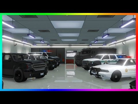 Storing Police Vehicles/Cop Cars In Garages - Rockstar States NEW DLC Updates Coming To GTA Online?