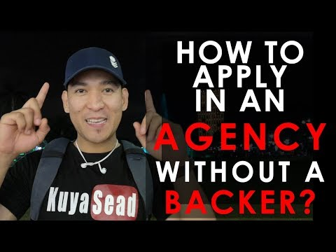 How to APPLY in an Agency or Shipping Company without a BACK