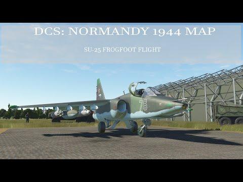 DCS: Normandy 1944 Map - Su-25 Flight, Part 1