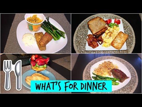 WHAT'S FOR DINNER   10 DINNER IDEAS (SINGLE MOM)