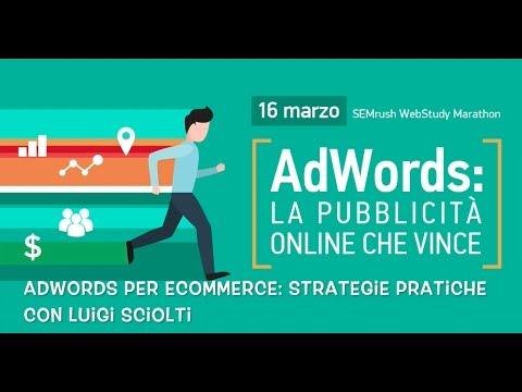 Adwords per eCommerce  Strategie pratiche.