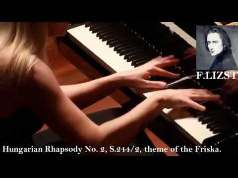 Lizst — Hungarian Rhapsody No. 2, S.244/2, theme of the Friska.