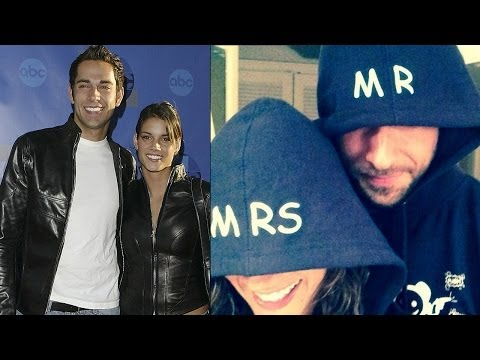 Zachary Levi's Secret Wedding With Missy Peregrym