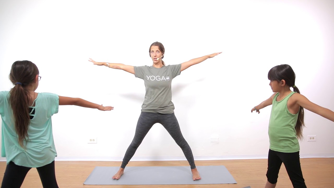 Yoga For Stress Relief  35 Minute Kids Yoga Class with Yoga Ed.  Ages 35-35