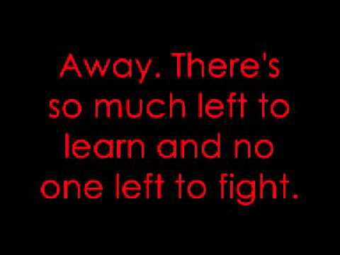 Broken - Seether Ft Amy Lee Lyrics!!