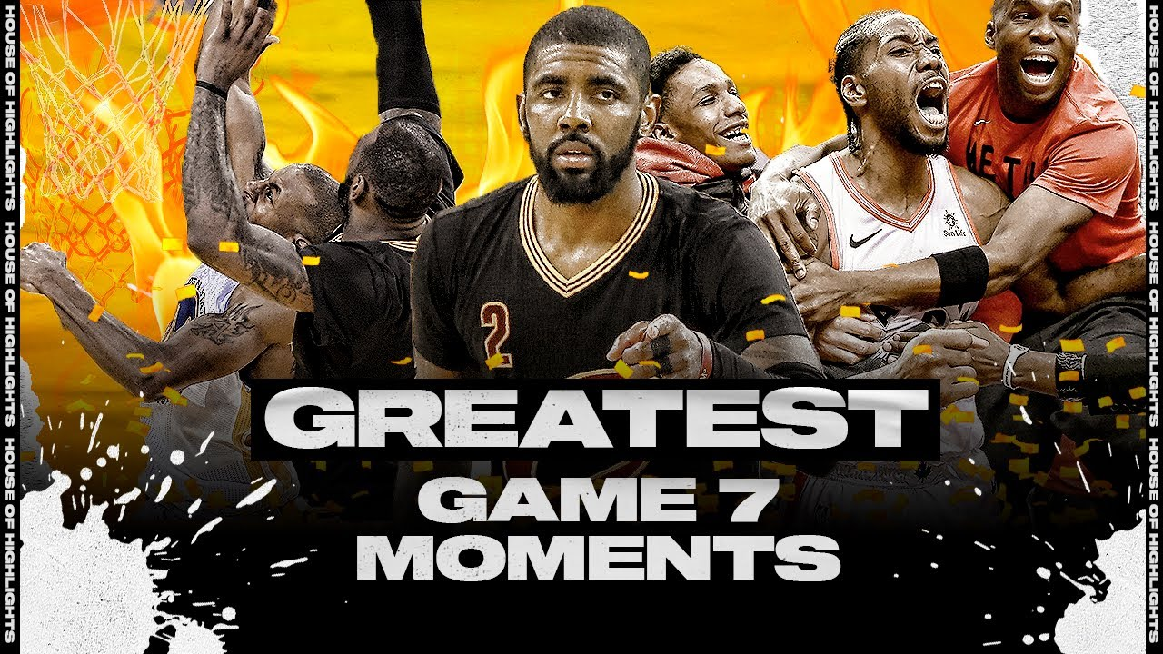 Greatest GAME 7 Moments of the NBA!