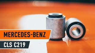 Інструкція: Як поміняти Втулки на передньому поперечний важіль MERCEDES-BENZ CLS C219