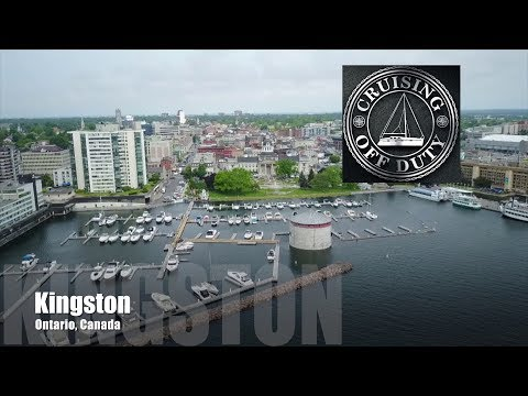 Sailing the 1000 Islands.  Cape Vincent, NY to Kingston, ON. Ep75