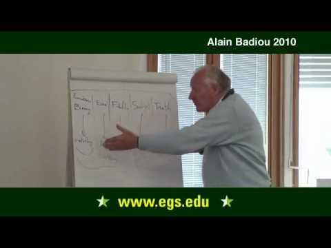 Alain Badiou. Mysticism and Philosophy. 2010.