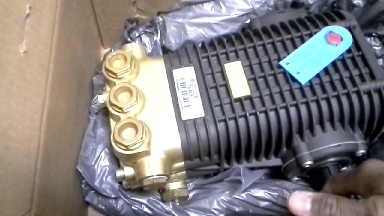 Comet Tw Series Pressure Washer Pump Youtube