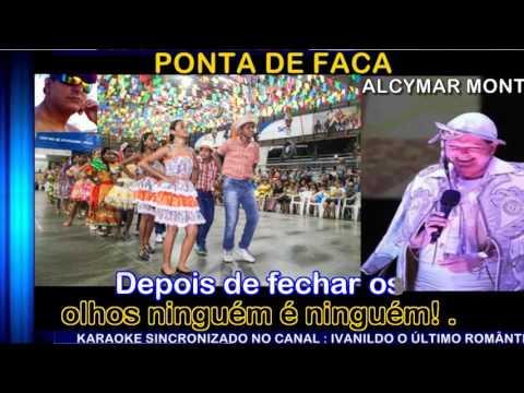 Ponta de Faca - Alcymar Monteiro - karaoke