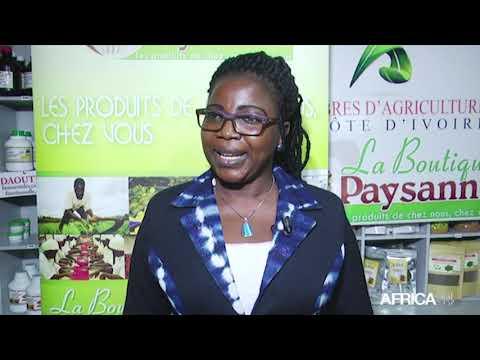 MON ENTREPRISE - Côte d'Ivoire : Flore KOUASSI, PCA de La Boutique Paysanne