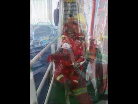 UWILD-FPSO KIKEH JULY 2014 video made by the safety officer Mustaffa Samsur