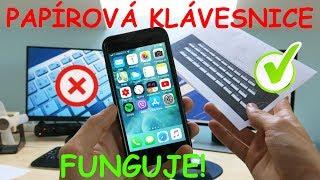 ✅ Jak připojit papírovou klávesnici k iPhone? - ZDARMA!
