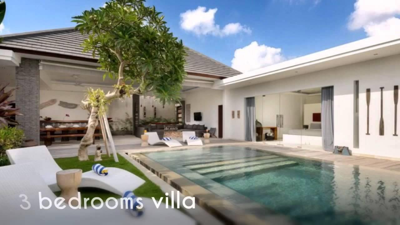 Villa Kyah 3 Bedrooms Villa Seminyak Bali Youtube