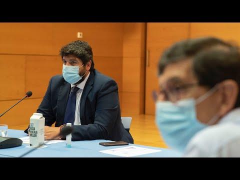 La Región de Murcia vuelve a superar los 300 casos de coronavirus en 24 horas