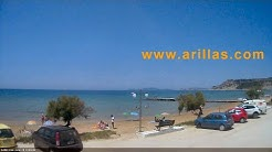 Arillas Live Webcam Corfu Greece   www.arillas.com