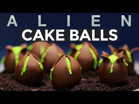 Save ALIEN EGG CAKE BALLS - NERDY NUMMIES - ALIEN COVENANT Snapshots