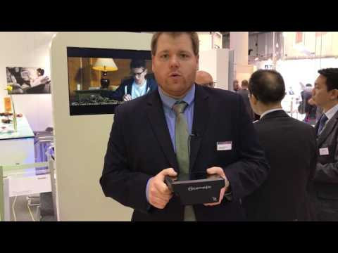 RGN Live at AIX: Satcom Direct unveils  nice  new box swappable media server