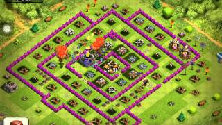 Clash of Clans Level 5 balloons Air Farming for level 40 - 60+