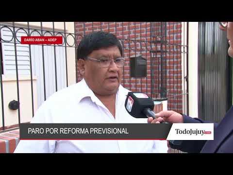 Jornada de protesta de ADEP en adhesión paro nacional por la reforma previsional