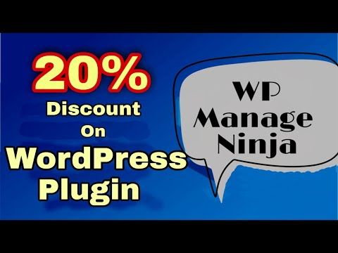 Get 20% discount on WordPress plugin || Free coupon available for WP Manage Ninja