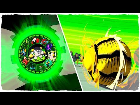💣 I BECOME THE ALIEN CANNONBOLT WITH THE OMNITRIX OF BEN 10 🎳