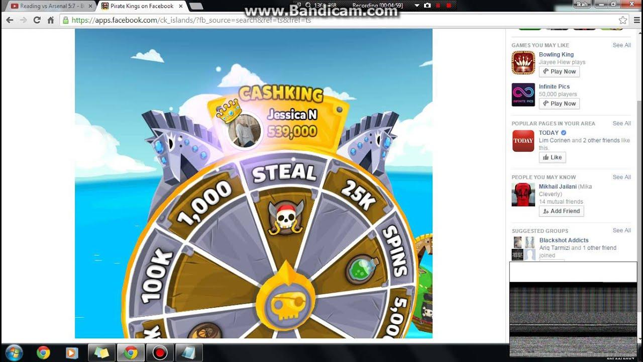 Pirate kings steal glitch. - YouTube