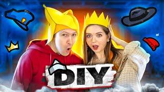 DIY делаю шапки AMONG US! Налила горячий клей Эльфику на голову! 🐞 Afinka
