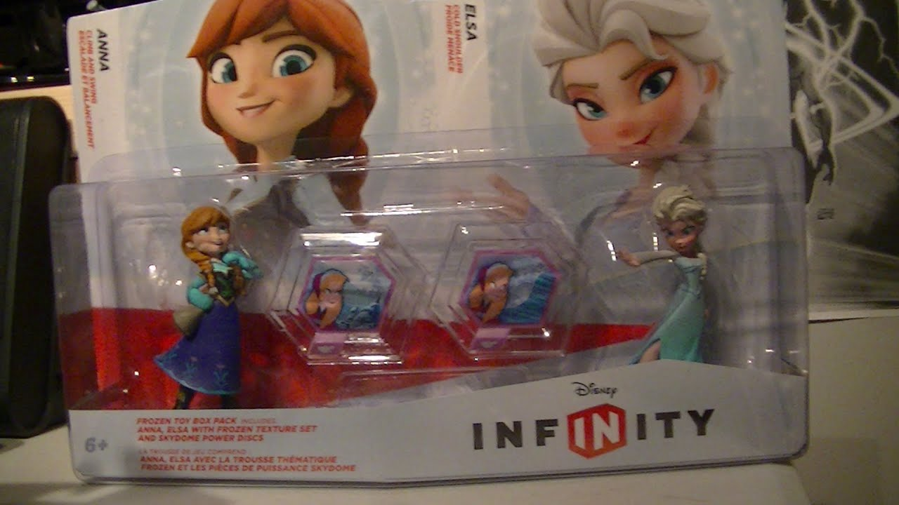 DISNEY INFINITY FROZEN PLAYSET UNBOXING - YouTube