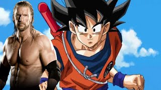 DBZ WWE TITANTRONS (1) Goku The Game ! HHH THEME SONG