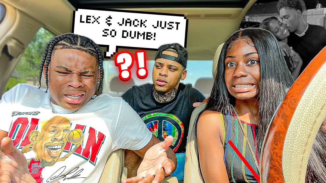 TALKING DOWN ON LEX AND JACK IN FRONT OF DENO TO SEE HIS REACTION..