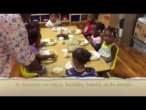 Sunrise Early Learning Center Children's Meal Prayer