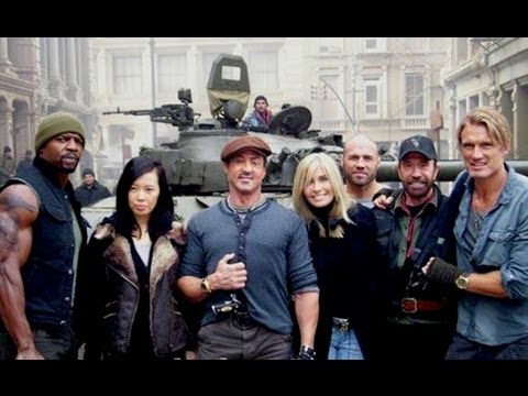 ON THE SET OF THE EXPENDABLES 2!