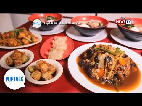 PopTalk: Affordable Asian resto food trip!
