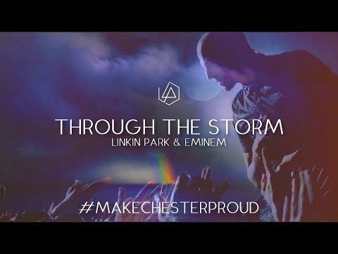 Linkin Park & Eminem - Through The Storm (Lyric Video)
